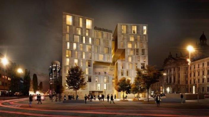 Hotel Königshof Abriss Neubau