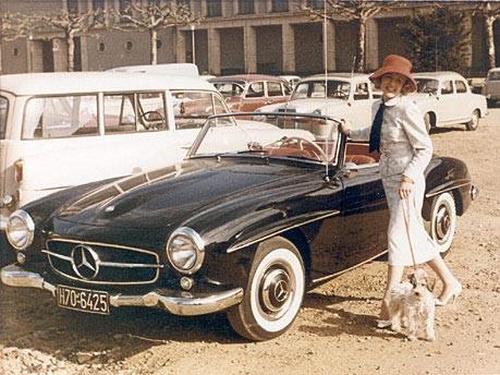 Nitribitt Mercedes 190 SL