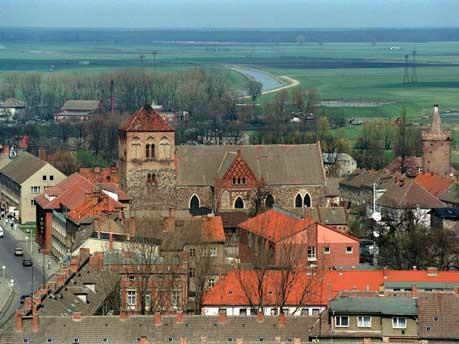 Pasewalk, Landkreis Uecker-Randow, Foto: dpa