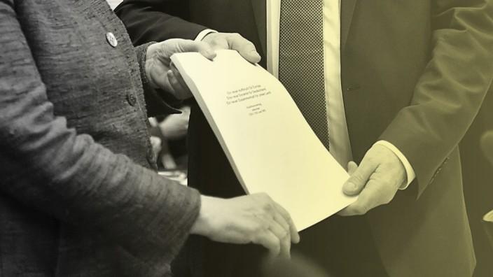 Groko: Der Koalitionsvertrag trägt stärker die Handschrift der SPD als von CDU/CSU.