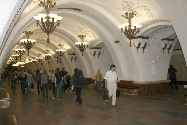 Moskauer Metro wird 75