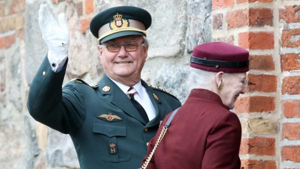 Gedenkfeier 150 Jahre Sturm auf Düppel - Prinz Henrik
