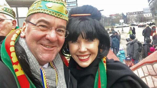 Doris Schröder-Köpf und Boris Pistorius