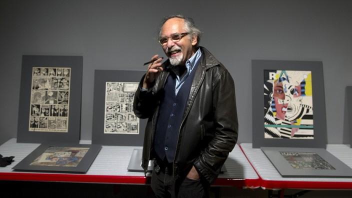 Art Spiegelman at The Jewish Museum in New York.