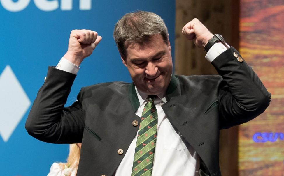 Politischer Aschermittwoch - CSU - Söder