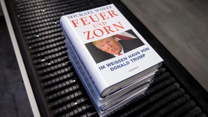 Druck der deutschen Ausgabe des Trump-Buches