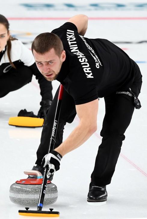 Olympia-Curler Alexander Kruschelnizki