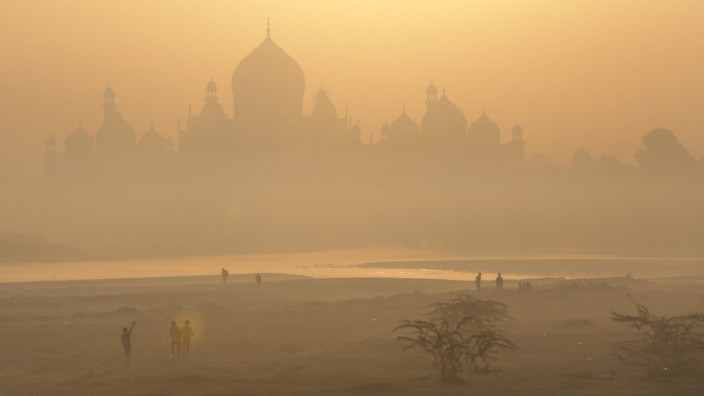 The Taj Mahal in Agra, Uttar Pradesh