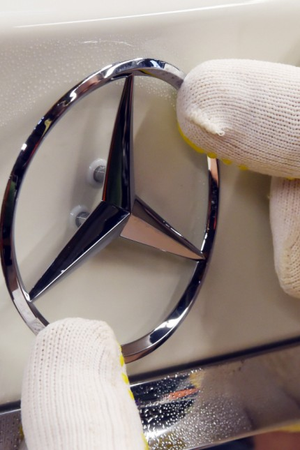 Daimler: Produktion der Mercedes A-Klasse in Rastatt