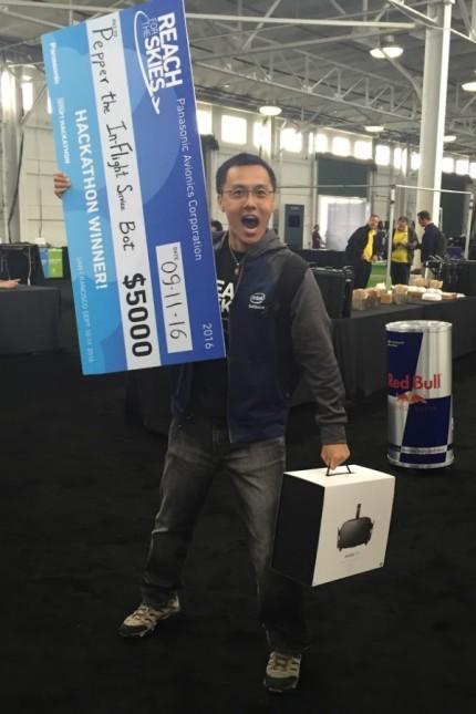Peter Ma König des Hackathon