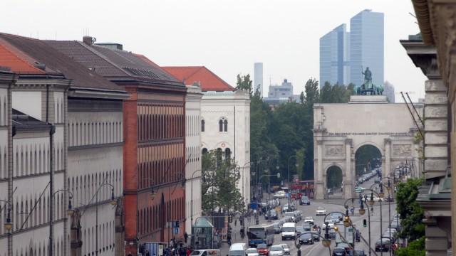 Ludwigstraße in München, 2007