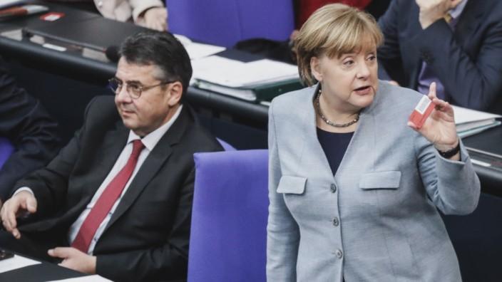 Groko: Nach der Bundestagswahl 2017 erhält die Große Koalition von Union und SPD in 23 Prozent der Gemeinden keine absolute Mehrheit mehr.