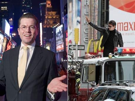 Karl-Theodor zu Guttenberg, Tom Cruise