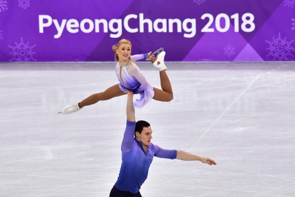 Pyeongchang 2018 - Savchenko und Massot