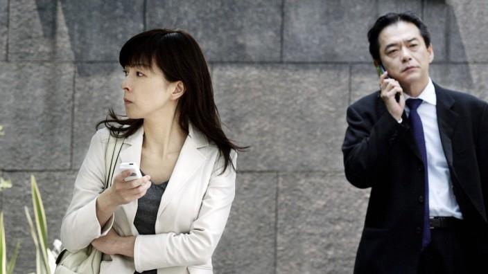 """""""MeToo""""-Debatte: Straßenszene in Tokio"""