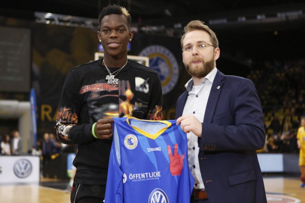 Dennis Schröder Atlanta Hawks NBA Basketball Herren USA zu Gast in seiner Heimatstadt Braunschweig