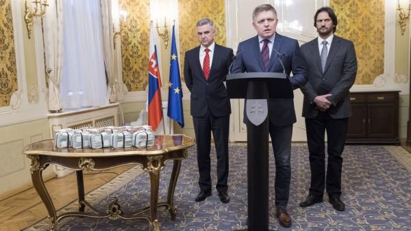 Nach Journalistenmord in der Slowakei
