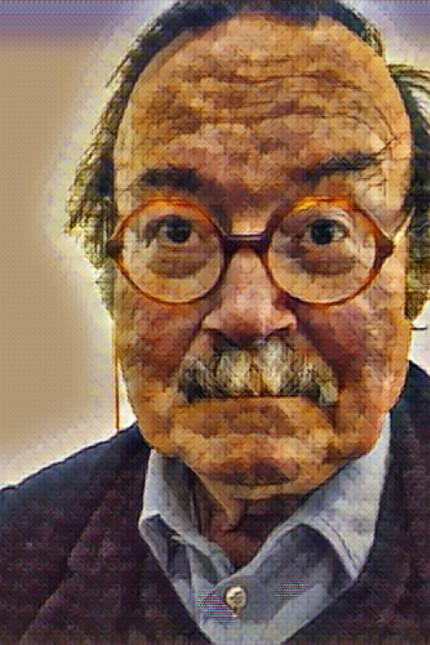 Neue Medien: Verfremdet und doch vertraut: Verleger Lothar Schirmer mit dem Auge der Klee-App betrachtet.