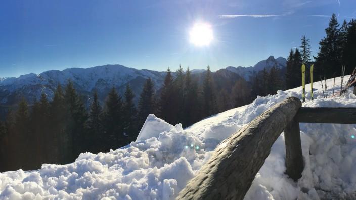 Wintersport am Unternberg