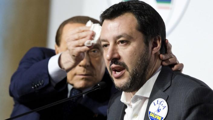 Silvio Berlusconi, Matteo Salvini