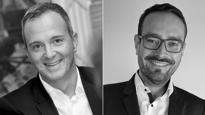 Forum: Matthias Weber (links) ist Vorstand des Diversity Völklinger Kreis e.V., dem Bundesverband schwuler Führungskräfte. Florian Prittwitz-Schlögl ist Weltgestalter Coaching und Experte für Diversity, Veränderung und Führung.