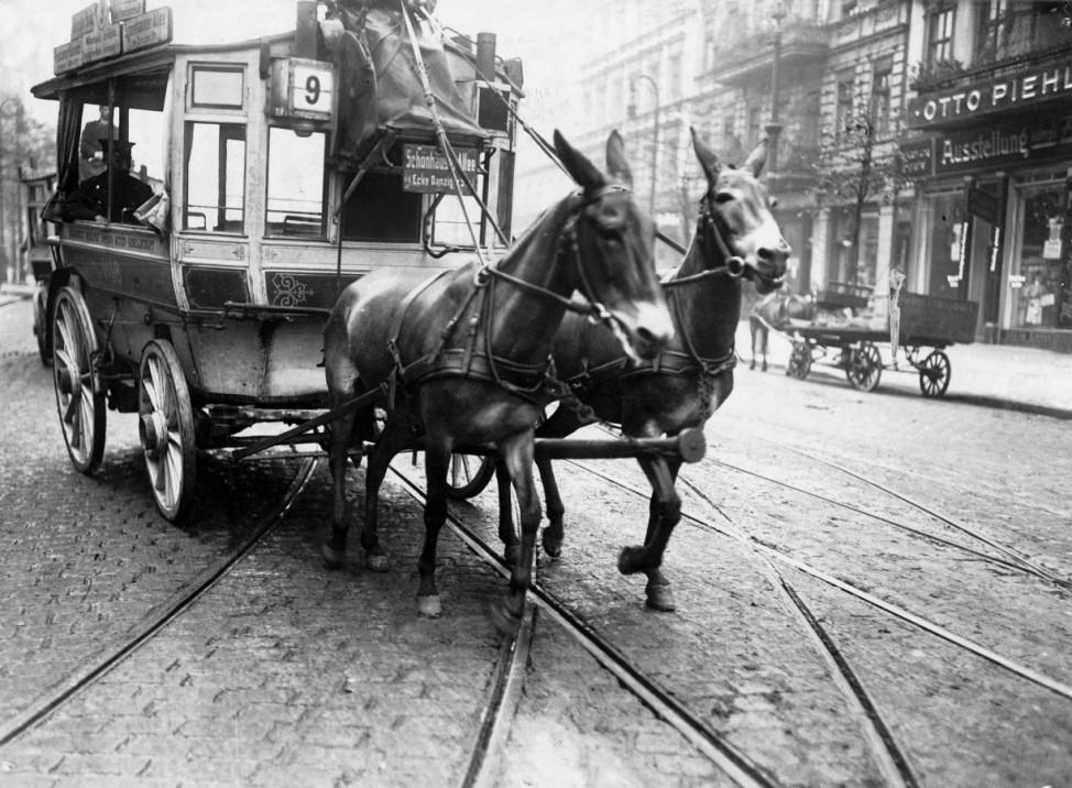 Bus in Berlin, 1911