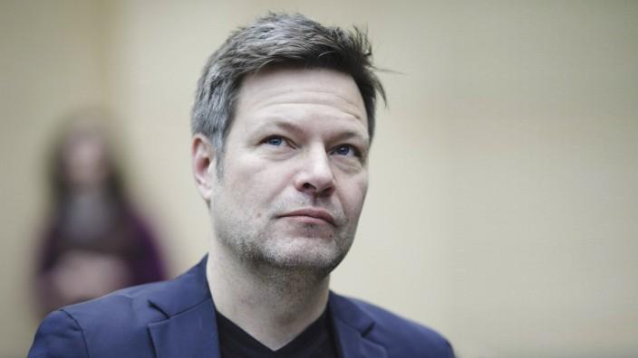 Robert Habeck stellvertretender Ministerpraesident von Schleswig Holstein und Bundesvorsitzender vo