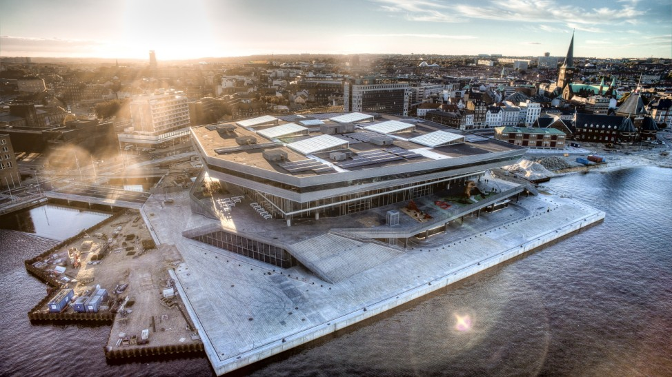 Dokk1 Aarhus Dänemark Bibliothek