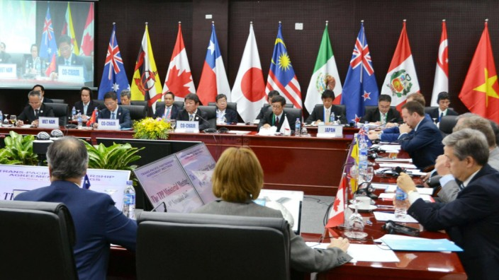 TPP ministerial meeting in Vietnam Ministers of the 11 signatories remaining in the Trans Pacific Pa