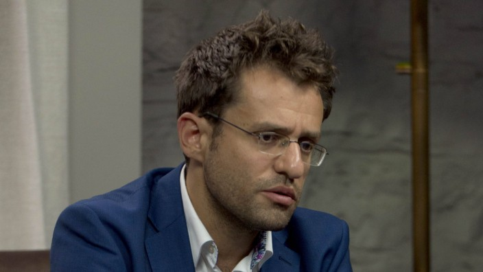 Aug 02 2017 St Louis Missouri U S GM LEVON ARONIAN in the broadcast center after his win o