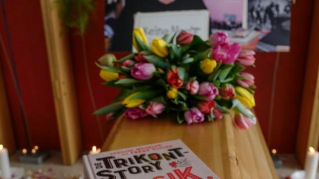 Trauerfeier: Von Musikverleger Achim Bergmann nehmen am Freitag viele Abschied.