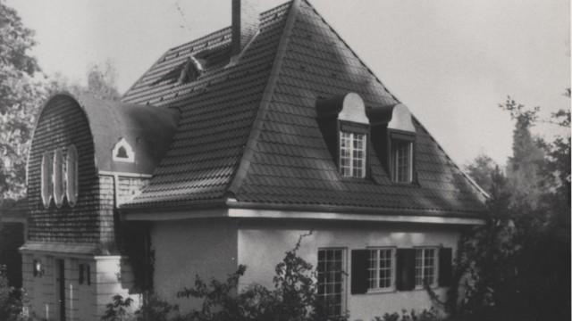 Icking - Die Bullrich-Villa , in der Schüler unterrichtet wurden