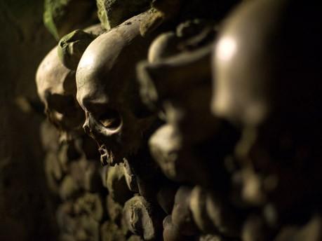In den Katakomben von Paris, AFP