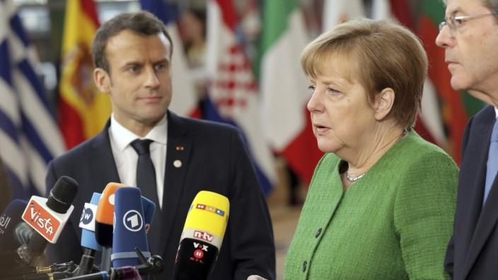 Europa: Frankreich blickt zunehmend irritiert auf Deutschland in Sachen Europa.