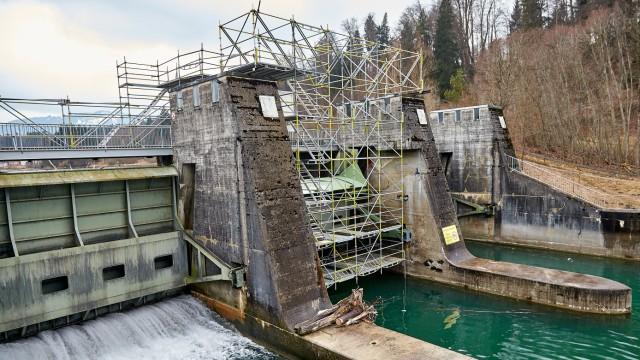 Klimafrühling Oberland Isarkraftwerk