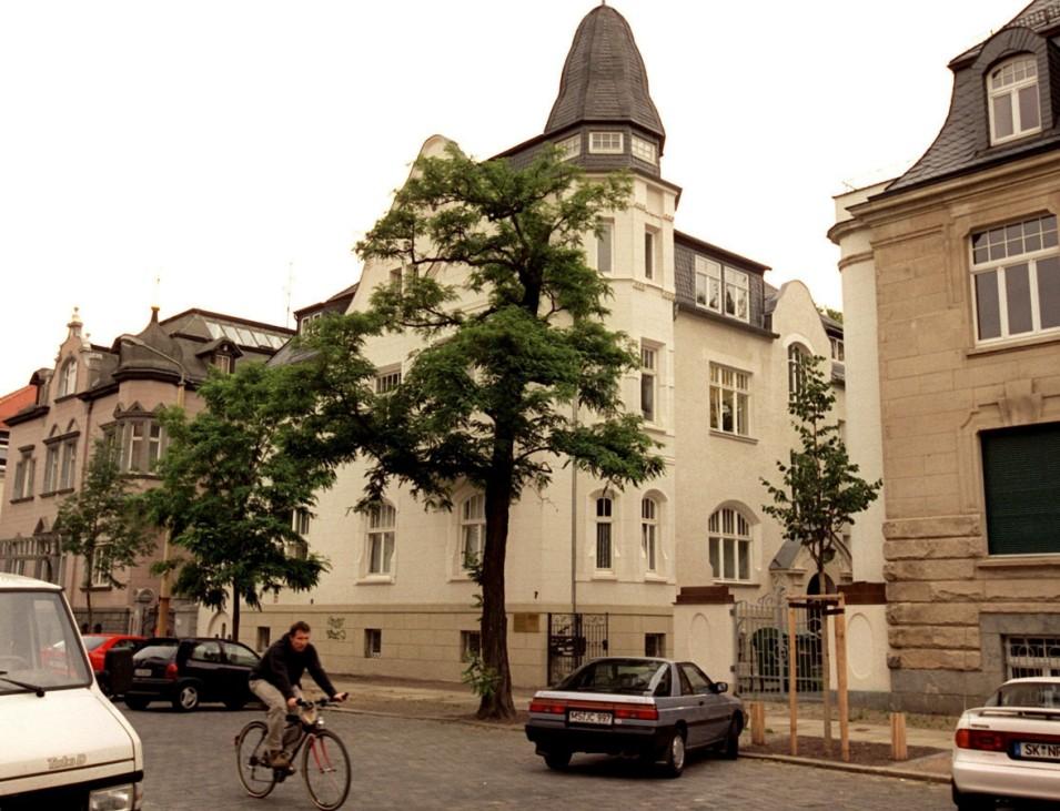 Einstige sowjetische Handelsmission in Leipzig