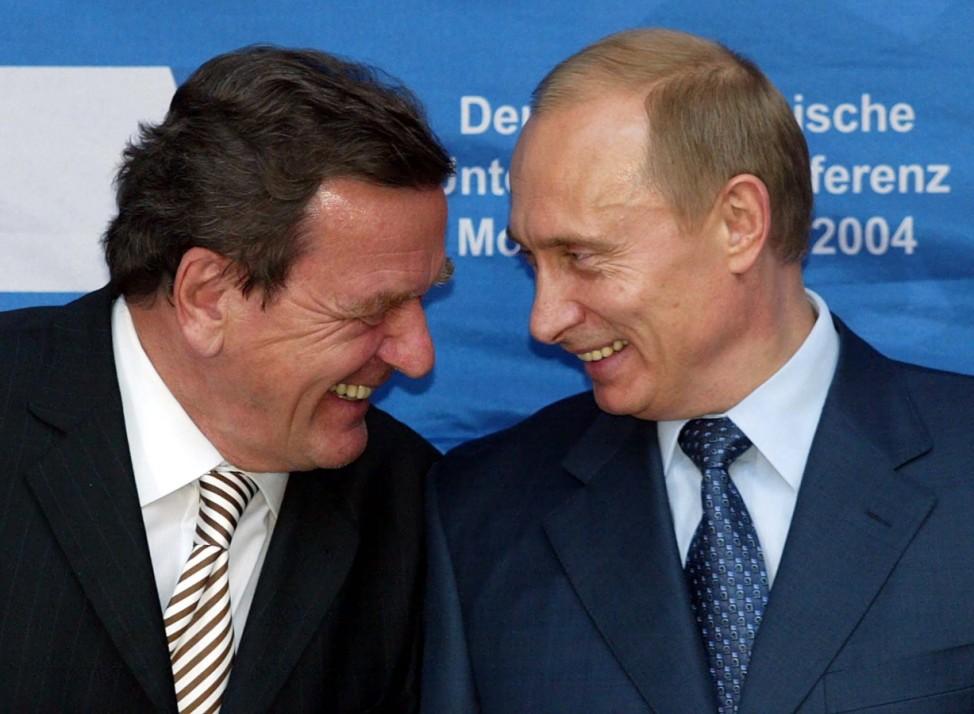 Schröder in Moskau