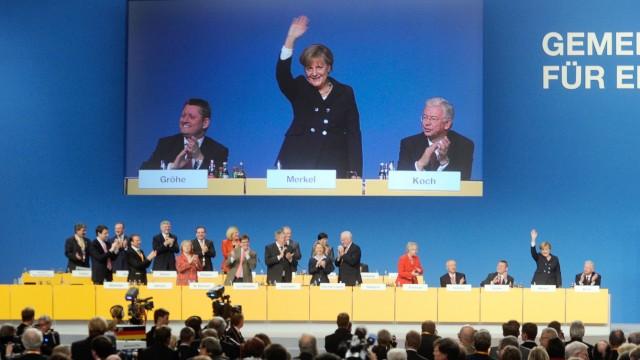 CDU-Parteitag - Rede Merkel, Übersicht