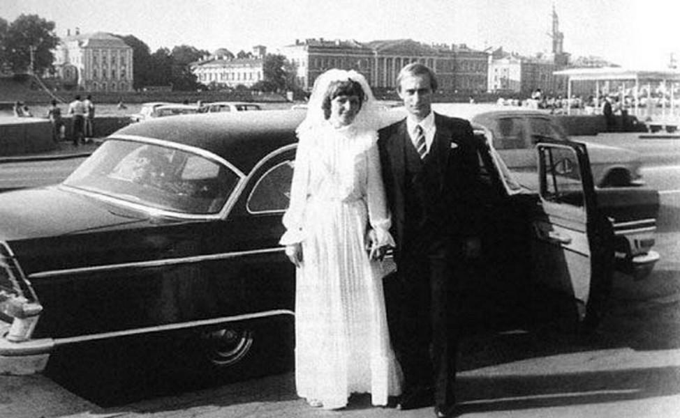 Wedding of Vladimir Putin Photo uznayvse ru RussianxArchives PUBLICATIONxINxGERxSUIxAUTxHUNxONLY