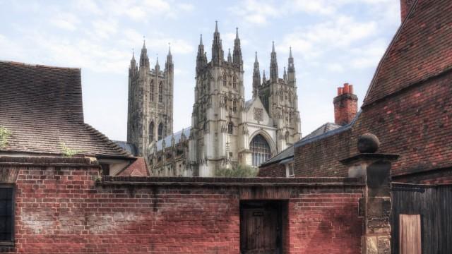 Canterbury Cathedral Canterbury Kent England United Kingdom