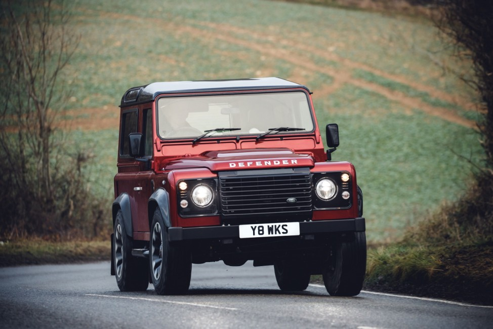 Land Rover Defender Works V8 70th Anniversary Edition
