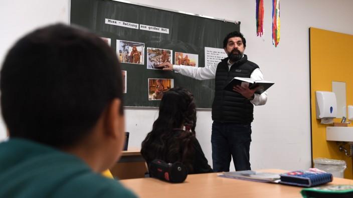 Islamunterricht an der Hauptschule in Neumarkt,
