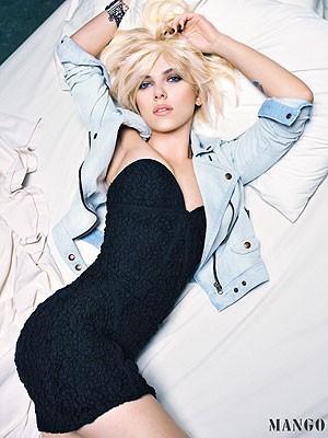 Scarlett Johansson, Mango