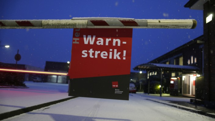 Warnstreiks in NRW