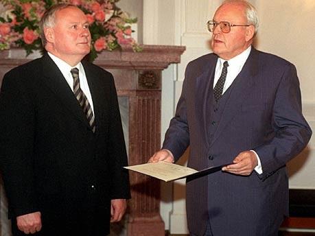 Oskar Lafontaine Herzog entlassung dpa