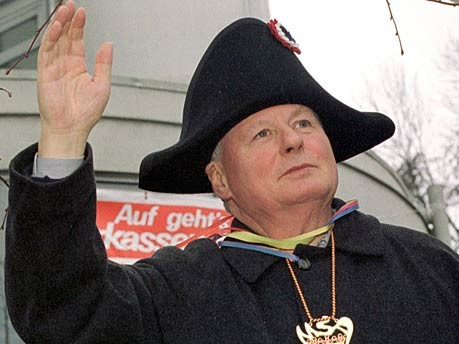 Oskar Lafontaine Napoleon dpa