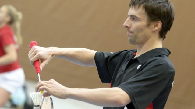 Badminton: Späte Ehre: Felix Hoffmann, 37, ist kürzlich Dritter der Senioren-Weltmeisterschaft geworden.