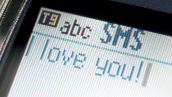 Am Valentinstag war das SMS senden fehlgeschlagen.