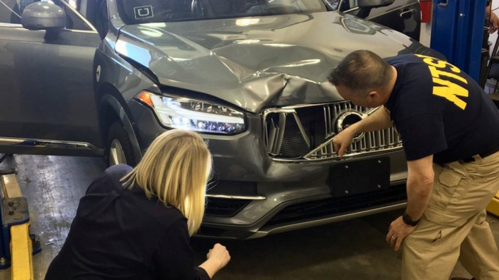 Untersuchung nach Uber-Unfall mit selbstfahrendem Auto