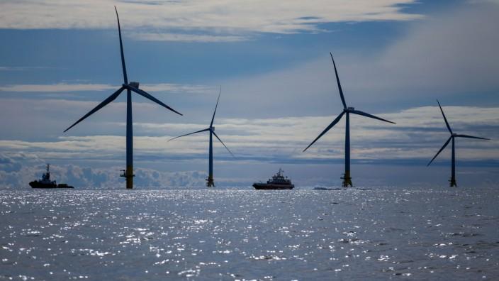 Offshore-Windpark vor Rügen